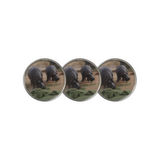 hippos golf ball marker