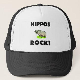 Hippos Rock Trucker Hat