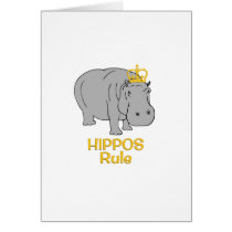 Hippos Rule Golden Crown