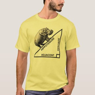 Hippotenuse Hypotenuse Funny Math Geometry T-Shirt