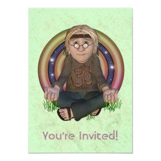 Hippy 60's Large Party Invitation