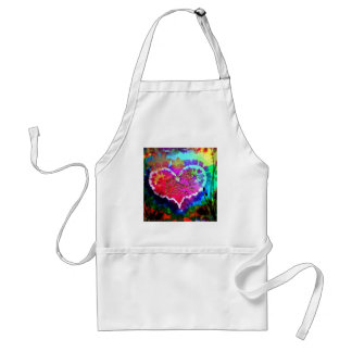 Hippy at Heart Rainbow Tie Dye gift collection Apron