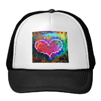 Hippy at Heart Rainbow Tie Dye gift collection Trucker Hat