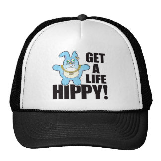 Hippy Bad Bun Life Trucker Hat