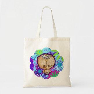 Hippy Bear Tote Bag