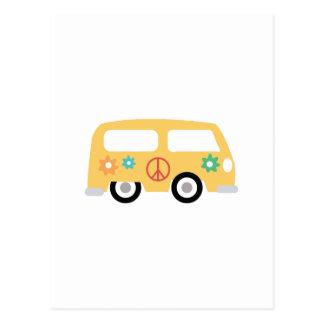 Hippy Bus Postcard