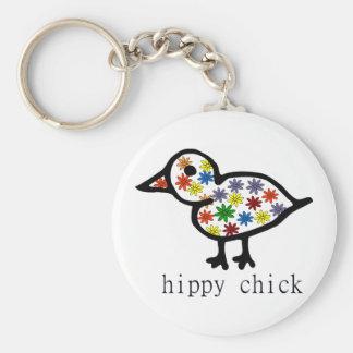 Hippy Chick Key Chain