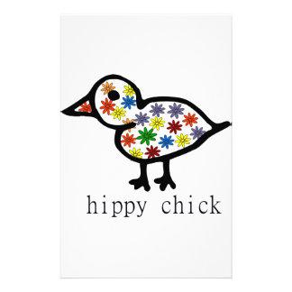 Hippy Chick Stationery