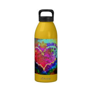Hippy en la colección del regalo del teñido anudad botella de agua