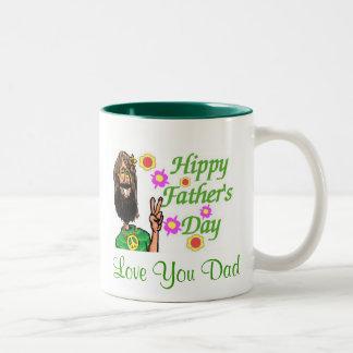 Hippy Father's Day Mug