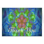 Hippy Flower Design Cards