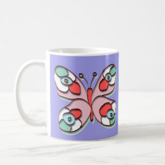 Hippy Fly Butterfly Coffee Mug