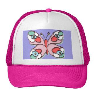 Hippy Fly Butterfly Trucker Hat