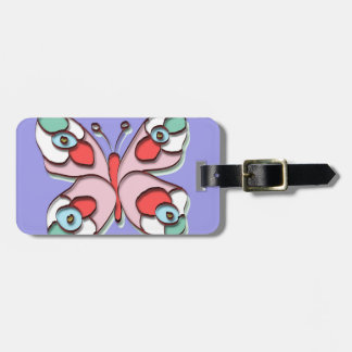 Hippy Fly Butterfly Tag For Luggage