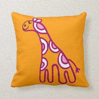 hippy giraffe pillows