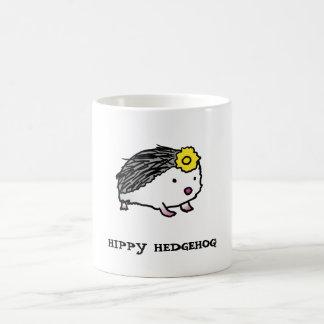 HIPPY HEDGEHOG! center image   mug