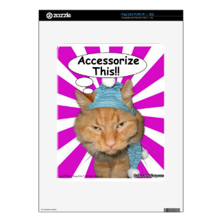 Hippy Kitty Accessorize This!! Skin For iPad