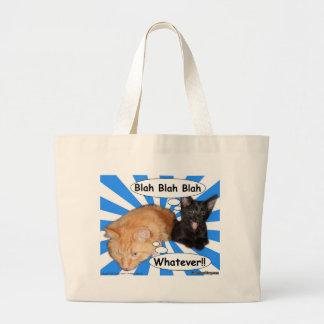 Hippy Kitty Blah Blah Blah Whatever!! Bag