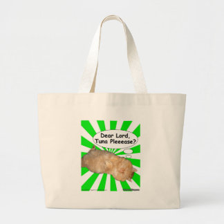 Hippy Kitty Dear Lord, Tuna Pleeease? Bags