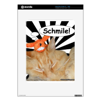 Hippy Kitty Schmile! Decals For iPad