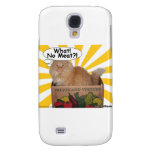 Hippy Kitty What! No Meat?! Galaxy S4 Cases