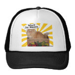 Hippy Kitty What! No Meat?! Hats