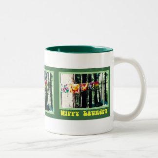 Hippy Laundry Mug