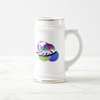 Hippy Logo White bkgrnd Stein