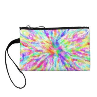 Hippy multicolor coin wallet
