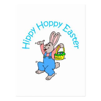 Hippy Pascua de lúpulo Postales
