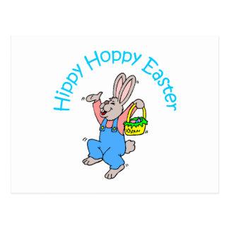 Hippy Pascua de lúpulo Tarjeta Postal