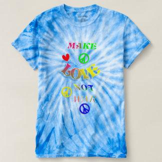 Hippy Peace Make Love Not War T-shirt