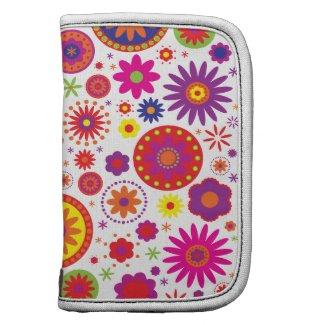 Hippy Rainbow Flowers rickshaw_folio
