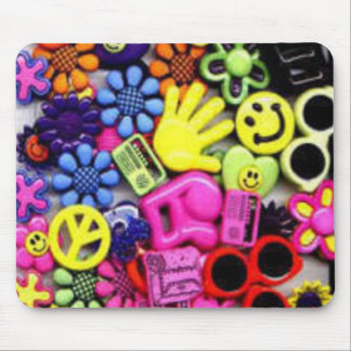 Hippy retro effect mouse pad