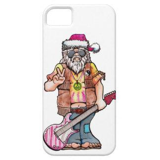 "Hippy Santa says ""Cool Yule"" iPhone SE/5/5s Case"