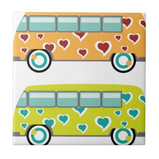 Hippy Van Ceramic Tile