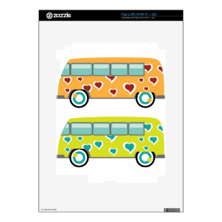 Hippy Van iPad 2 Decals
