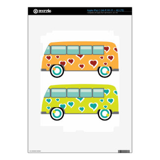 Hippy Van iPad 3 Decals