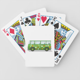 Hippy Van Bicycle Poker Cards