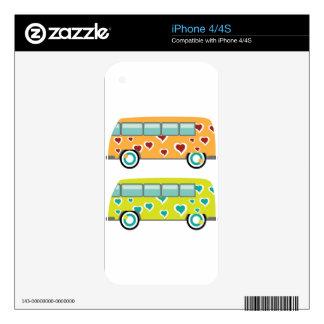 Hippy Van Skins For iPhone 4