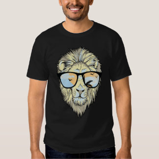 hipsta lion spring break vacation tshirt