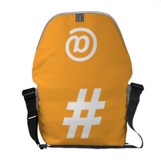 Hipstar Orange Messenger Bag