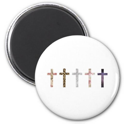 Hipster 2 Inch Round Magnet
