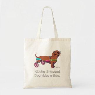 Hipster 2-legged Dog Bag