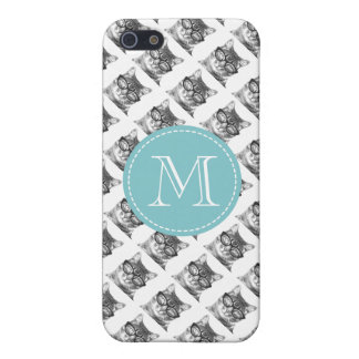 Hipster animal iPhone 5 case | Cat with glasses