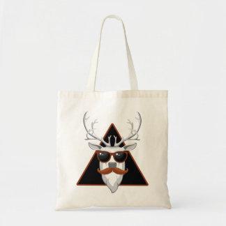 Hipster Antler Art Tote Bag