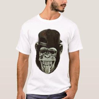 Hipster Ape Monkey Chimpanzee T-Shirt