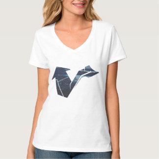 Hipster Arrow Women's Hanes Nano V-Neck T-Shirt