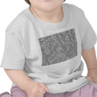 Hipster Artsy Hand Drawn Geometric Linear Pattern Shirt