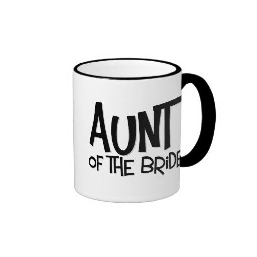 Hipster Aunt of the Bride Mugs